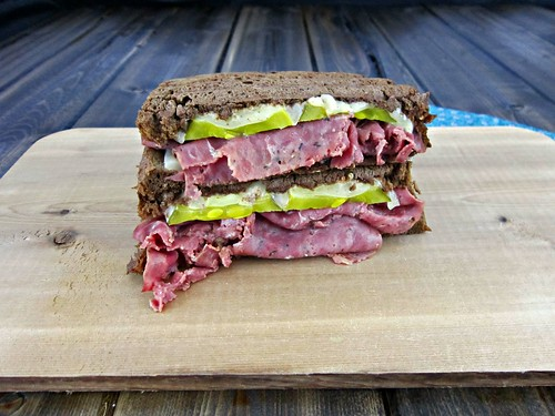Pastrami & Swiss on Rye