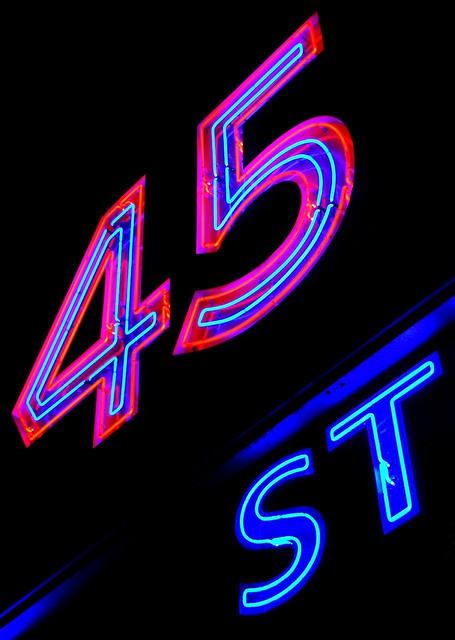 Which Way to 45th Street?