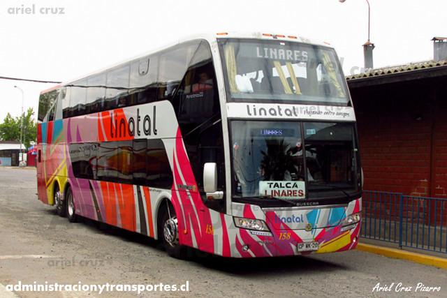Linatal - Talca - Busscar Panorâmico DD / Volvo (CPWK20) (158)