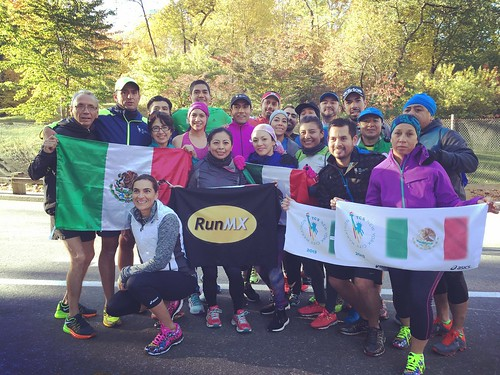 Mexican Run Maraton de Nueva York 2015