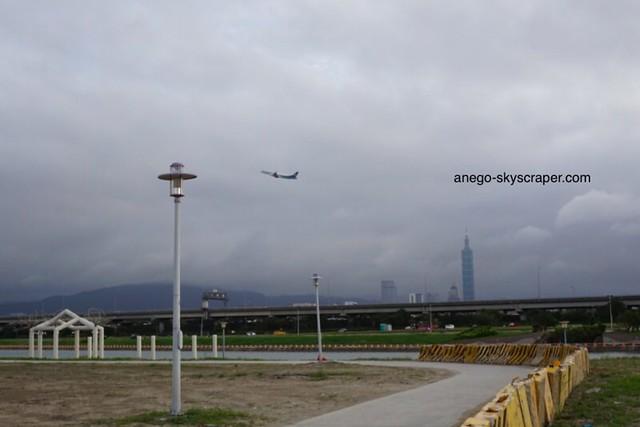 剣南 飛行機と101