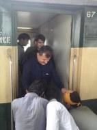 Welcome Sain Sadhram Sahib at Pooj Raherki Sahib (14)