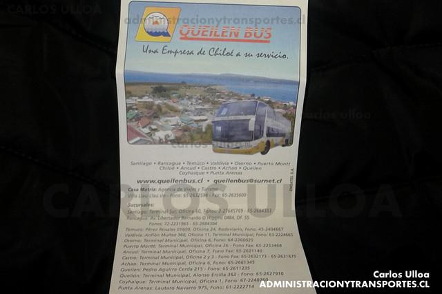 Pasaje Queilen Bus - GYPS37