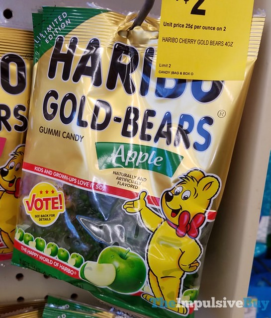 Limited Edition Haribo Gold-Bears Apple