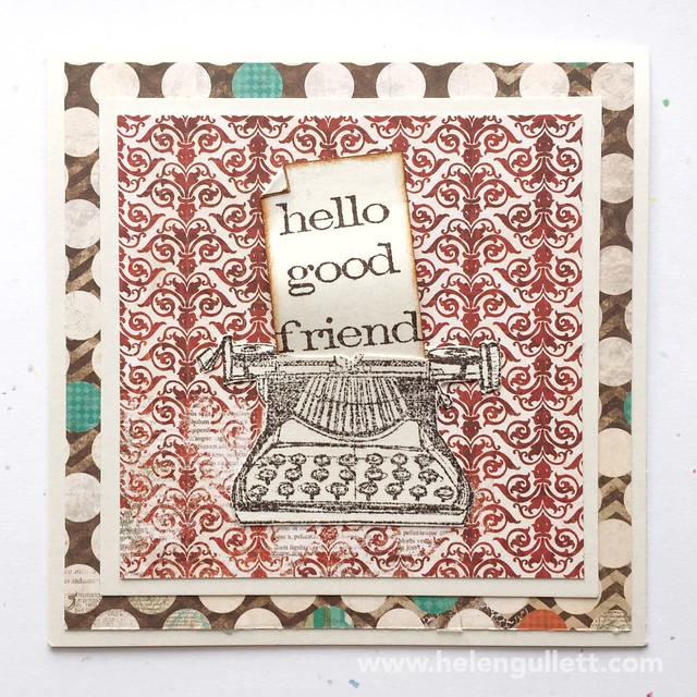 Vintage Card Set - Hello Good Friend