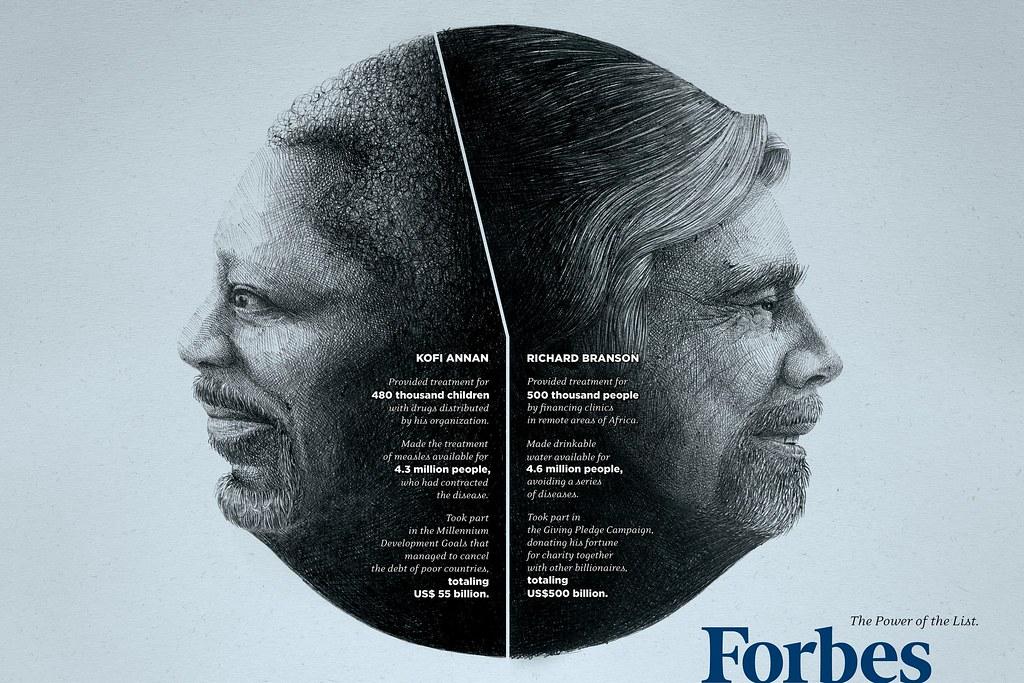 Forbes - Money is good Annan & Bronson