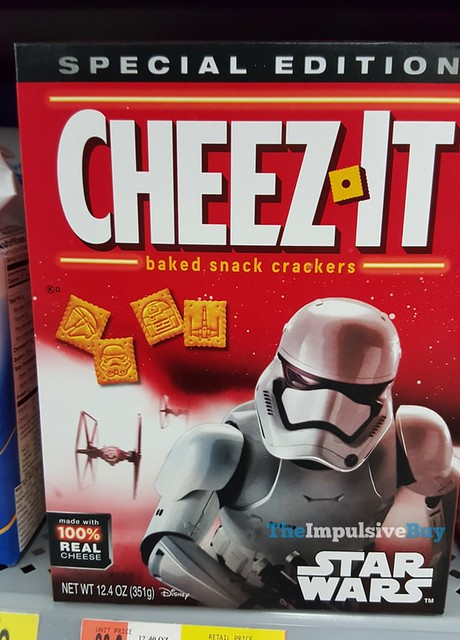 Special Edition Star Wars Cheez-It Crackers