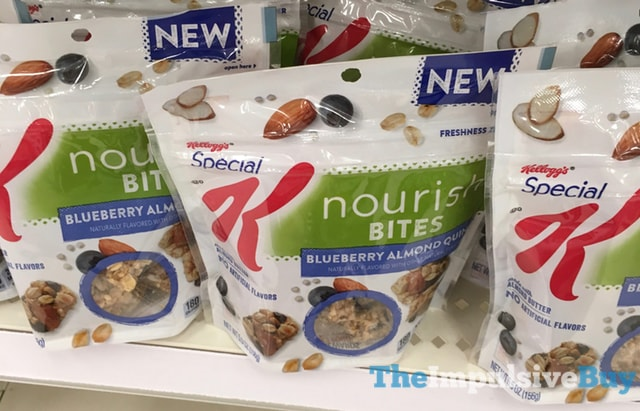 Kelloo'gs Special K Blueberry Almond Quinoa Nourish Bites