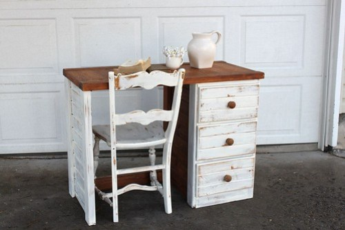 Shabby Chic Desk Ideas