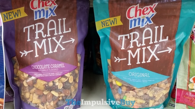 Chex Mix Trail Mix (Original and Chocolate Caramel)