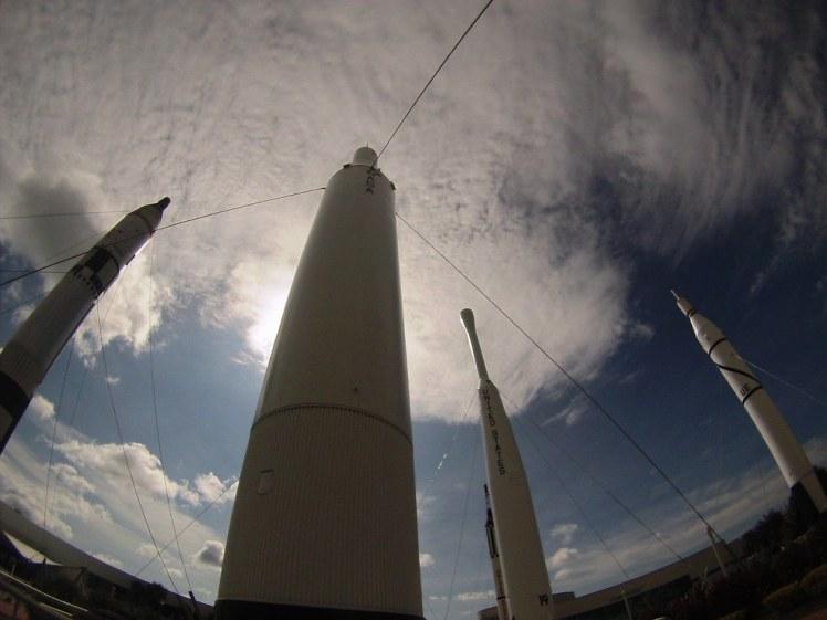 Rocket Garden - Kennedy Space Center Visitor Complex, Florida, Oct. 10, 2015