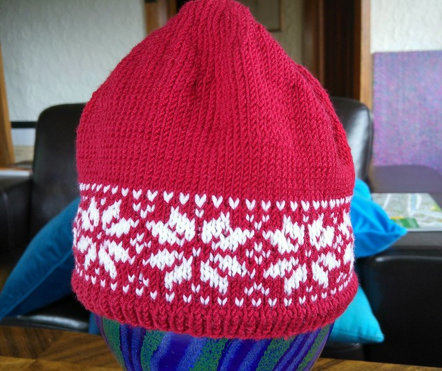 1st colourwork project finished!