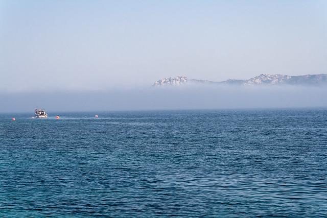 Nebel vor Maddalena