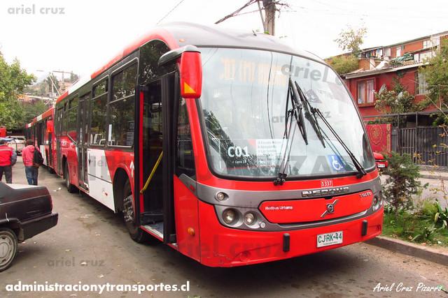 Transantiago - Redbus Urbano - Neobus Mega BRT / Volvo (CJRK44) (1337)