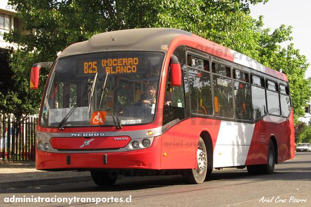 Transantiago - Redbus Urbano - Neobus Mega BRT / Volvo (CJRK36) (1204)