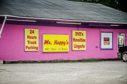 Mr. Happy's Adult Book Store