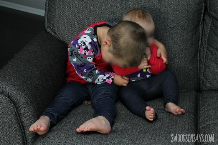 kids in raglans