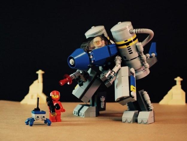 "T-Rex JumpJet in ""classic""classic space colours"