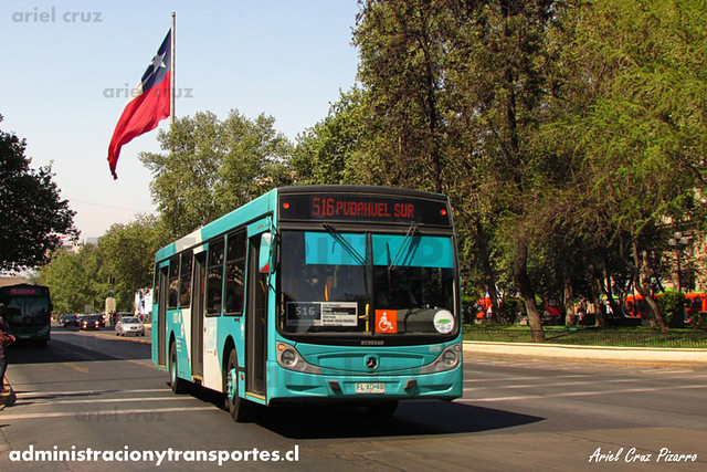Transantiago - Metbus - Caio Mondego H / Mercedes Benz (FLXD40) (730)