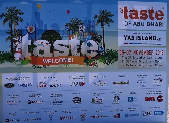 taste of abu dhabi du arena