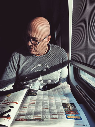 Canvas One Man Only Only Men One Person Adults Only Men Completely Bald Eyeglasses  Looking Down Adult Sitting Indoors  People Businessman Shaved Head Hair Loss Working Human Body Part Day Uniqueness מייאייפון7 Shotoniphone7plus IPhone7Plus Mydtrainmoment