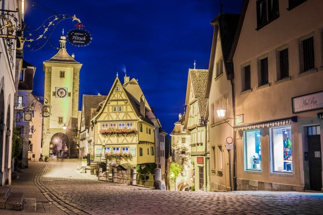 This is Rothenburg
