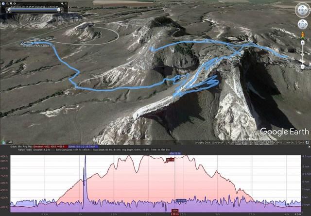 Scotts Bluff Google Earth