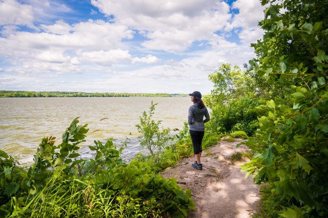 The Illinois from Starved Rock State Park