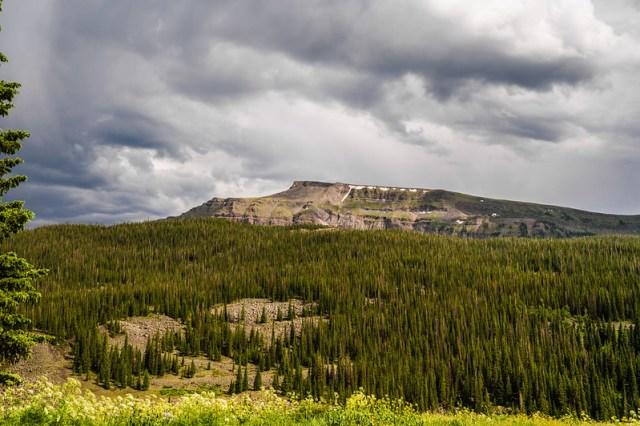 Flat Tops Wilderness - Crazy Clouds