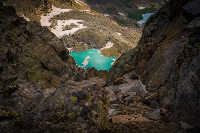 Arapaho Glacier from South Arapaho Peak