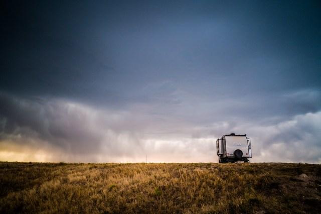 Hunkered Downin Pawnee National Grassland