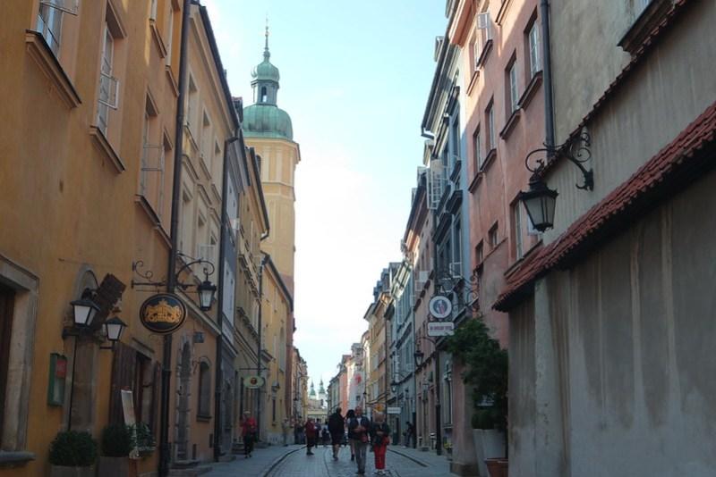 Calles de la Ciudad Vieja