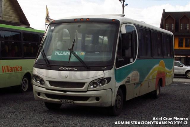 Buses Vipu-Ray - Villarrica - Comil Piá / Mercedes Benz (WT9392)