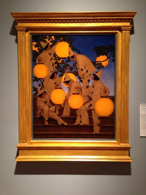 Maxfield Parrish: The Lantern Bearers