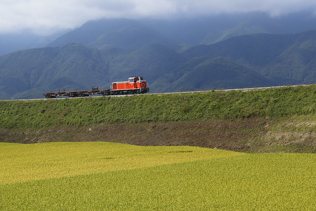 遅工9263レ Rail transportation train For Nobeyama Sta.