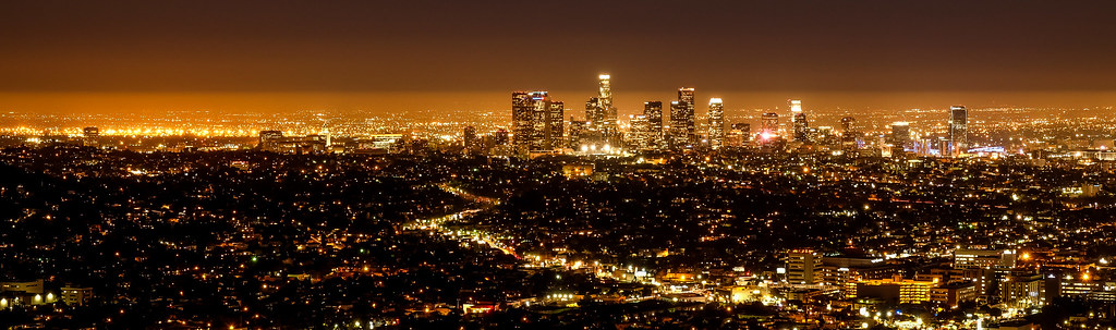 lights of LA