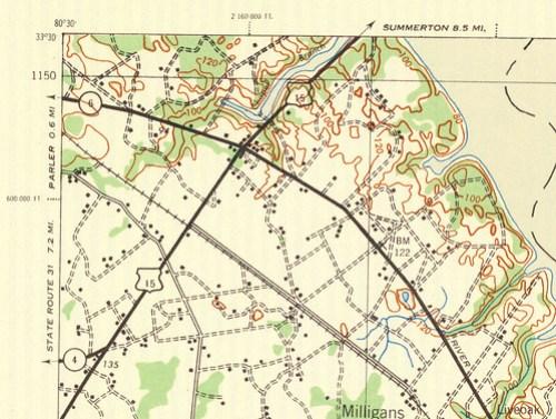 Santee 3 Map