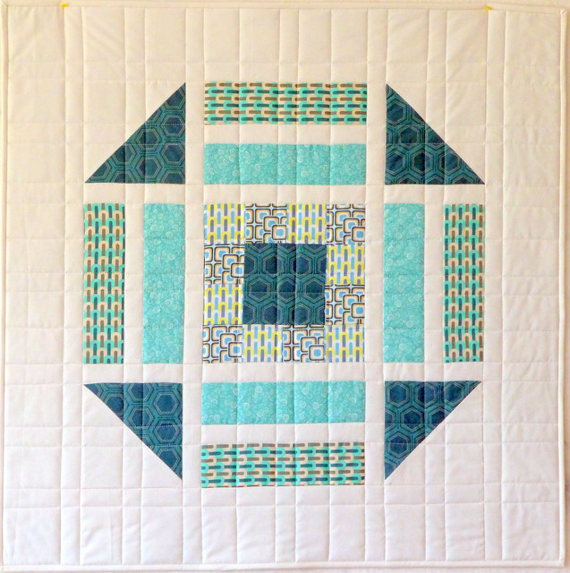 'Dissected block' wallhanging