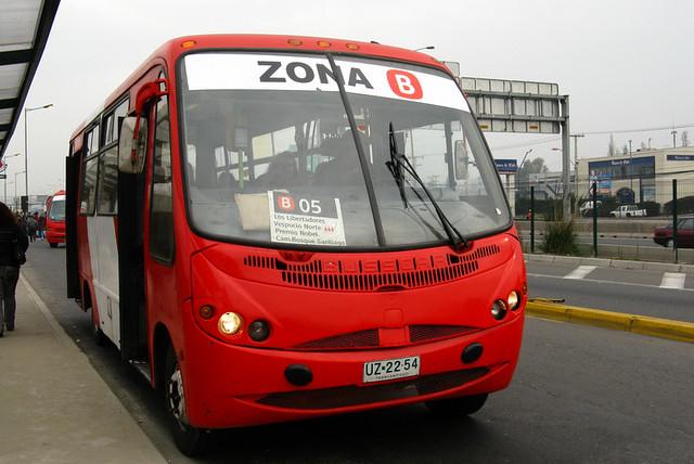 Transantiago - Buses Gran Santiago - Busscar Micruss / Mercedes Benz (UZ2254)