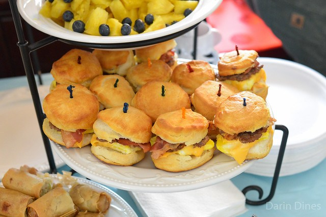Sausage, Bacon, Egg, & Cheese Biscuit Sandwiches