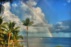 key largo rainbow HDR