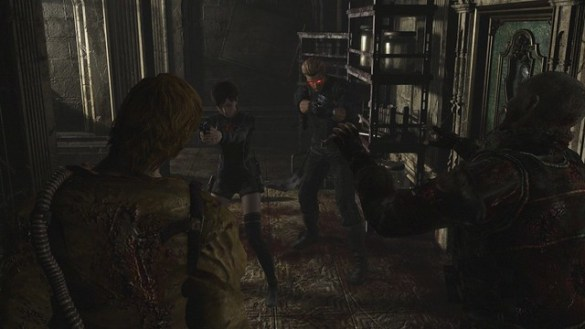 Wesker Resident Evil 0