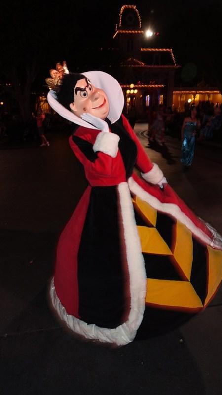 Queen of Hearts at Disneyland Halloween Party