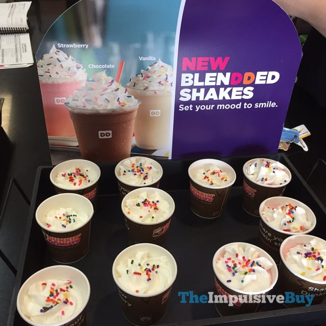 Dunkin Donuts Blendded Shakes