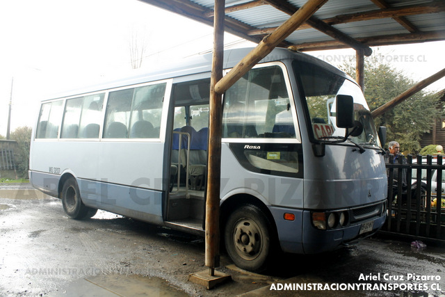 Buses Caburgua - Pucón - Mitsubishi Fuso Rosa (WS3287)