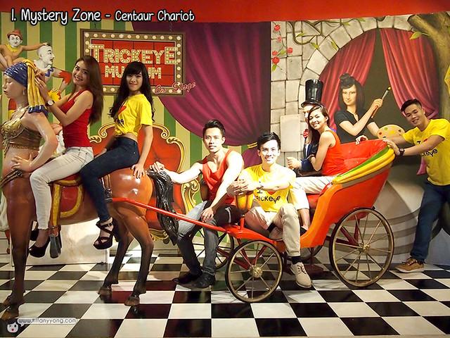 Trick Eye Museum Singapore Centaur Chariot