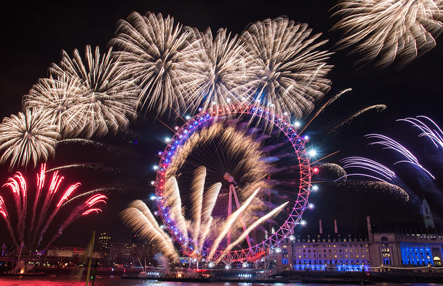 London New Year s Eve Fireworks 2016   London City Hall Album     London New Year s Eve Fireworks 2016 by London Gov
