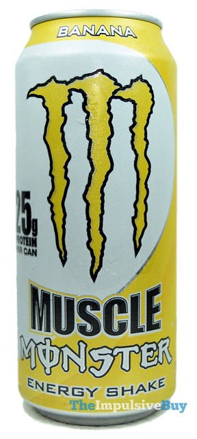 Muscle Monster Banana Energy Shake