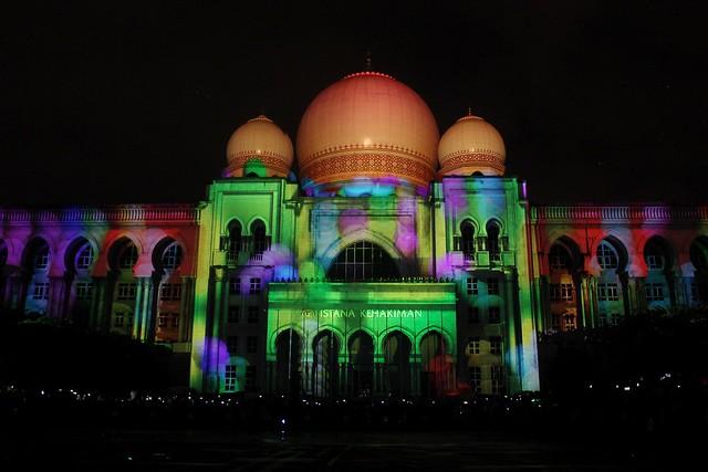 Festival Light and Motion Putrajaya 2015