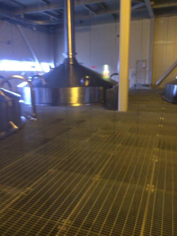 サッポロビール工場内